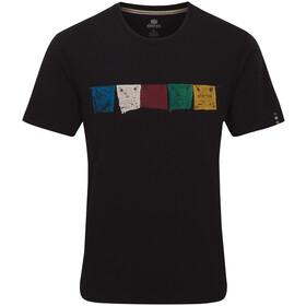 Sherpa Tarcho Camiseta Hombre, negro